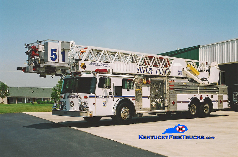 <center> REASSIGNED <br> Shelby County  Tower 3351  <br> x-Middletown, KY <br> 1985 Duplex D-450T/Grumman 1500/200/102'  <br> Kent Parrish photo </center>