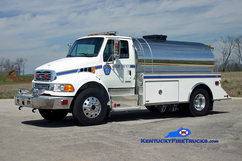 <center> Shelby County  Tankers 3361 <br> 2008 Sterling Acterra/US Tanker 400/2000<br> Kent Parrish photo </center>