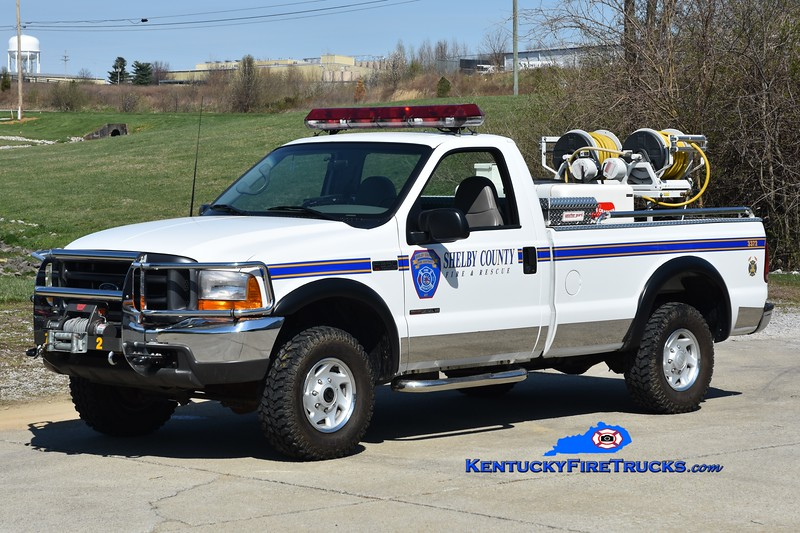 Shelby County Field Units 3372 <br /> x-Field Unit 3371 <br /> 2001 Ford F-350 4x4/Marco HPP/150 <br /> Greg Stapleton photo