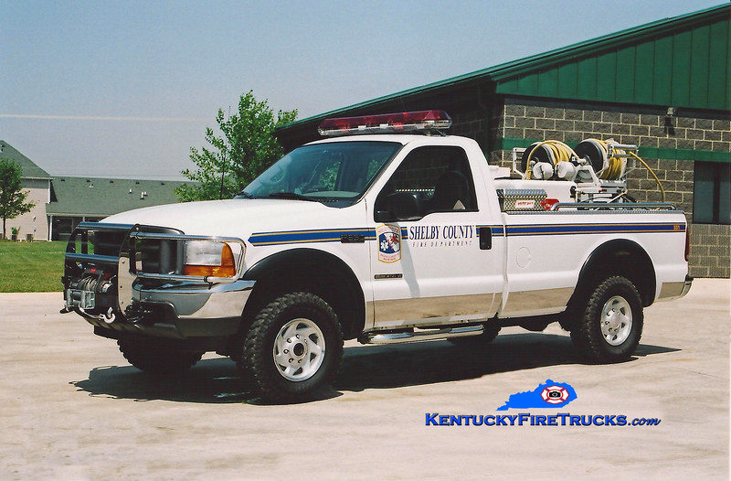<center> REASSIGNED <br> Shelby County  Field Unit 3371 <br> 2001 Ford F-350 4x4/Marco HPP/150 <br> Kent Parrish photo </center>