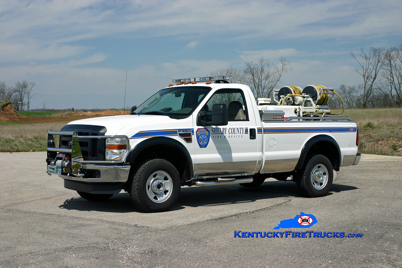 <center> Shelby County  Field Unit 3371 <br> 2008 Ford F-350/Marco HPP/150<br> Kent Parrish photo </center>