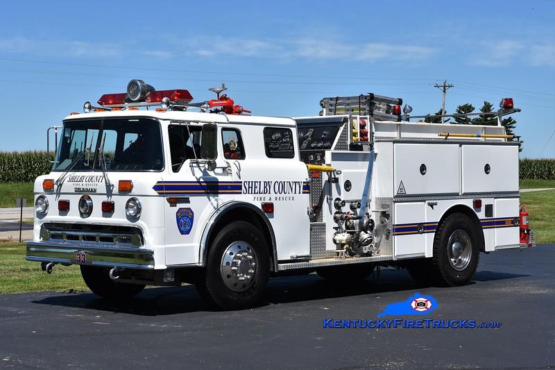 Shelby County Engine 3333<br /> x-Engine 3331<br /> 1982 Ford C-8000/Grumman 1250/600/25<br /> Greg Stapleton photo