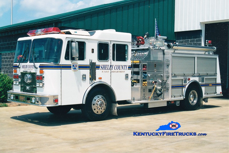 REASSIGNED <br /> Shelby County Engine 3334<br /> 1995 KME Renegade 1250/750<br /> Greg Stapleton photo