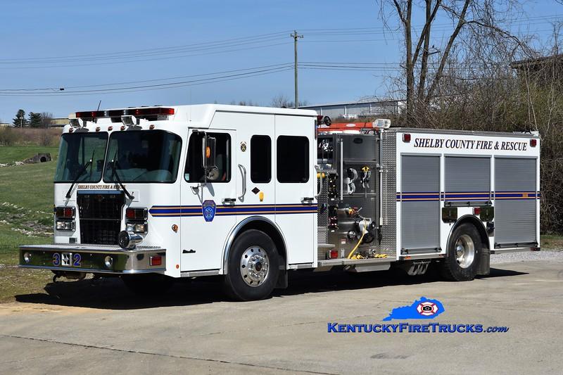 Shelby County Engine 3332 <br /> 2008 Spartan MetroStar/Toyne 1250/750/30<br /> Greg Stapleton photo