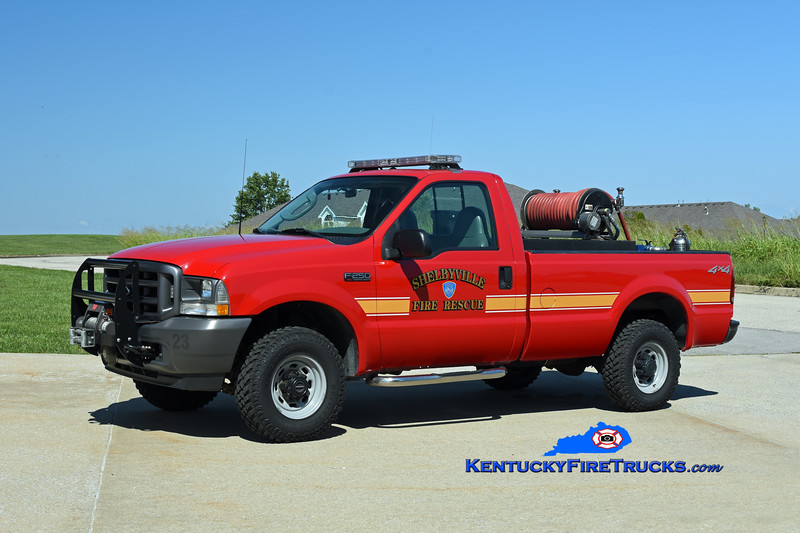 Shelbyville Grass 23<br /> 2003 Ford F-350 4x4/FD-Darley 250/200<br /> Kent Parrish photo