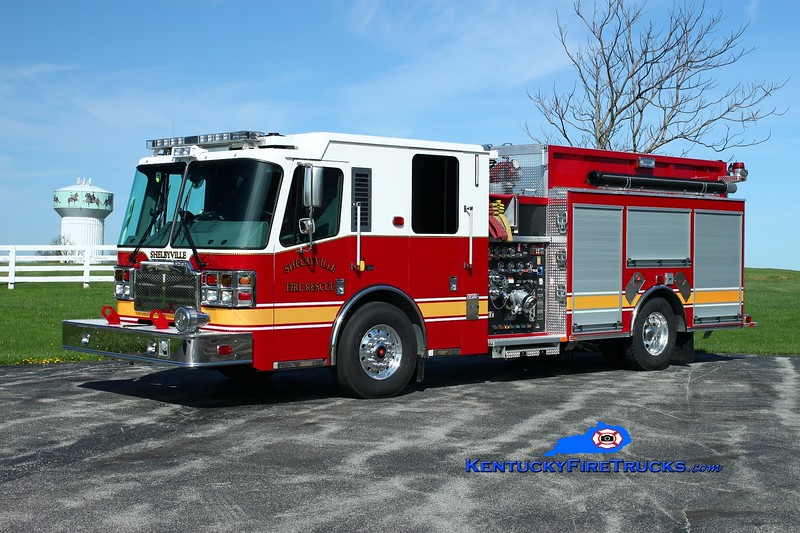 <center> Shelbyville  Engine 22  <br> 2015 Ferrara Cinder 1500/500/20 <br> Kent Parrish photo </center>