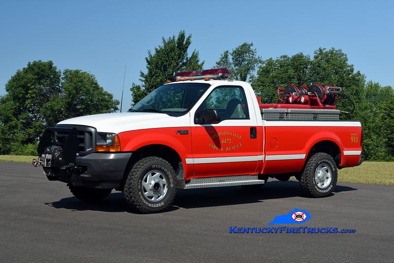 Simpsonville  Brush 4472<br /> 1998 Ford F-350 4x4/Mertz 150/200<br /> Kent Parrish photo