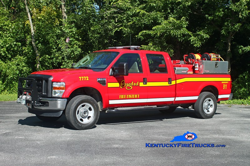 <center> Bagdad  Brush 7772  <br> 2008 Ford F-350 4x4/Mertz HPP/150 <br> Kent Parrish photo </center>
