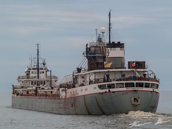 Michipicoten heading out into Lake Superior