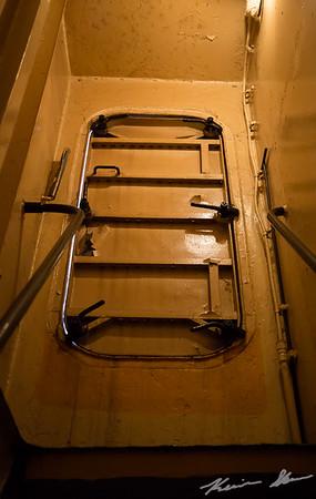 Stair case door - American Victory