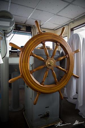 American Victory wooden steering wheel