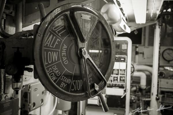 Engine room chadburn - American Victory