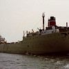 Cement carrier J.A.W. Iglehart heading into the open lake (film scan)