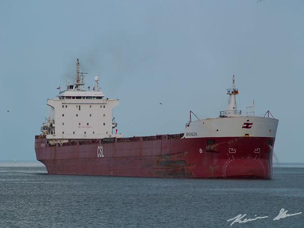 CSL's bulker Birchglen inbound for a load of coal