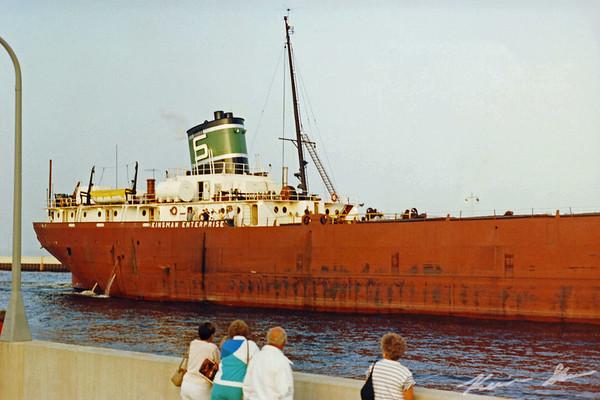 Stern of the long departed Kinsman Enterprise (film scan)