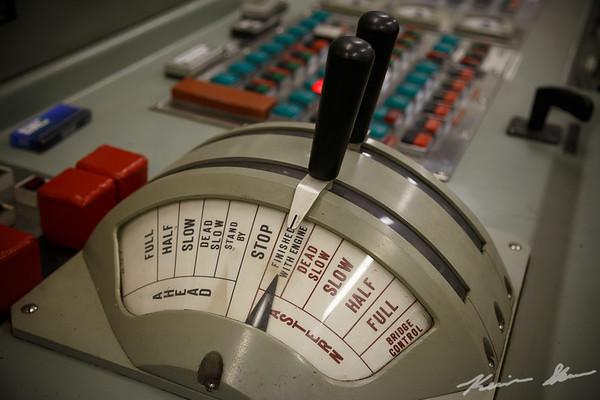 Engine room controls - American Century