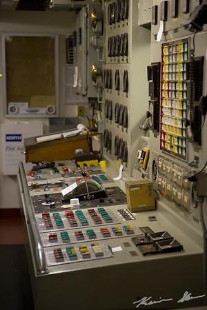 Engine control room - John J. Boland