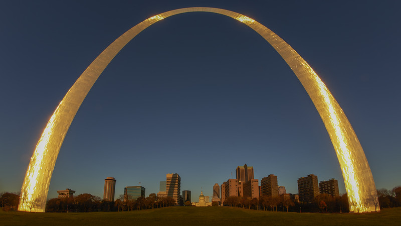 St. Louis Arch - Sunrise
