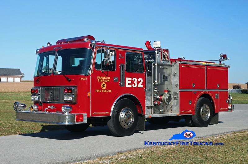 Franklin-Simpson  Engine 32<br /> x-Holland Charter Twp, MI<br /> 1987 Pemfab Imperial/Grumman 1500/750<br /> Kent Parrish photo