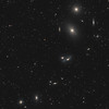 Virgo Cluster segment - Markarian's Chain
