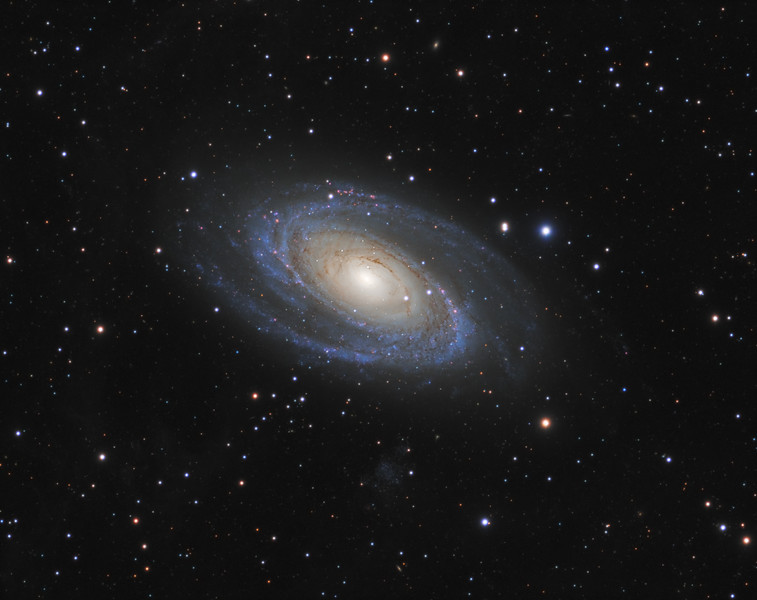 Messier 81 (Bode's Nebula) in Ursa Major