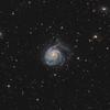 M101 in Ursa Major - HaLRGB