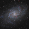 Pinwheel Galaxy in Triangulum - Messier 33