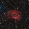 Sharpless 2-261 (Lower's Nebula) in Orion - SHO and LRGB