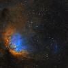 Tulip Nebula and Cygnus X-1 Shockwave - two panel mosaic