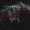 Bat Nebula in the Eastern Veil - Bicolour