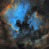 North America and Pelican Nebulae - 6 panel mosaic
