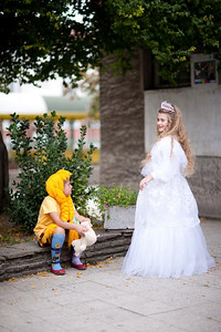 Every girl wants to be a princess.