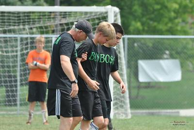 Team BO$$ in Kicks for Kids Tournament at Penn State, August 7, 2011.