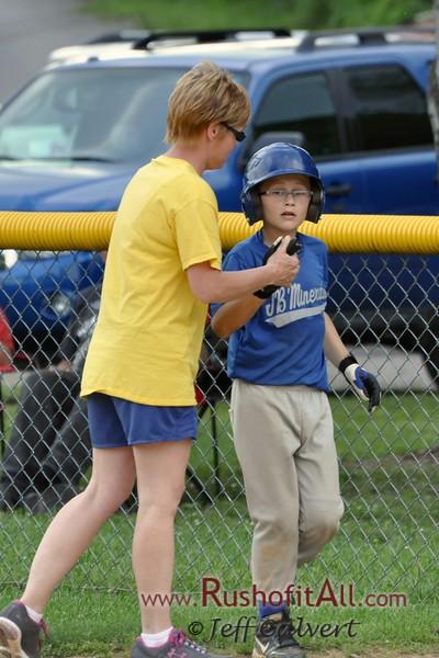 Berlin machine-pitch baseball (7-8 years old)