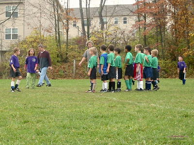 CSA soccer game in State College, PA on October 30, 2004.