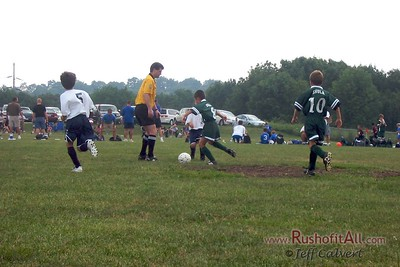 Boys Soccer - Centre Soccer Association travel team (what became Centre Lightning) in Plum Kickoff Classic at Plum, PA on August 27, 2006.