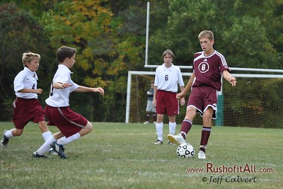 Boys Soccer - Park Forest Middle School v. Altoona Area Junior High School, in Altoona, PA on 24 Sep 2009.