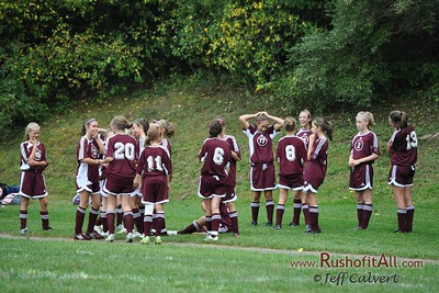 Girls Soccer - Park Forest Middle School v. Altoona Area Junior High School, in Altoona, PA on 24 Sep 2009.