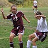 Girls Soccer - Park Forest Middle School v. Altoona Area Junior High School, in Altoona, PA on 24 Sep 2009.