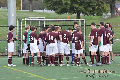 JV Soccer - State College Area High School v. Hershey High School, in Hershey, PA on 10 Oct 2011.