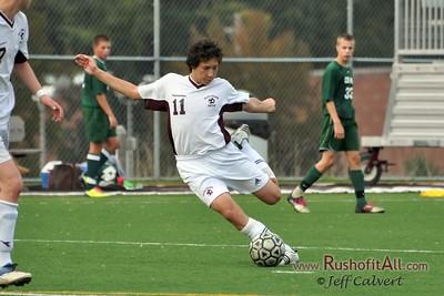 JV Soccer - State College Area High School v. Central Dauphin High School, in State College, PA on 18 Nov 2011.