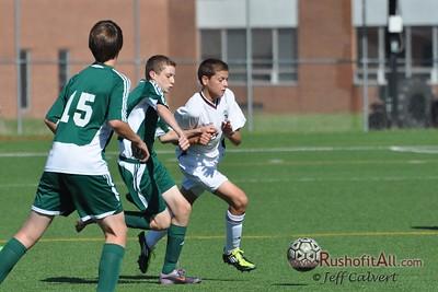 JV Soccer - State College Area High School v. Emmaus High School, in State College, PA on 8 Oct 2011.