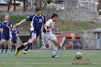 JV Soccer - State College Area High School v. Hollidaysburg Area High School, in Hershey, PA on 11 Oct 2011.
