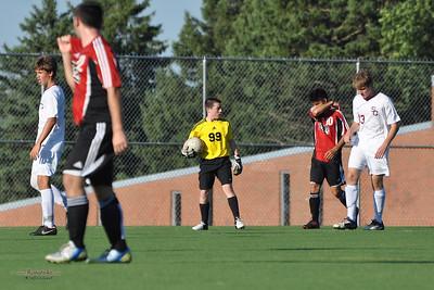 JV Soccer - State College Area High School v. Cumberland Valley High School, in State College, PA on September 4, 2013.