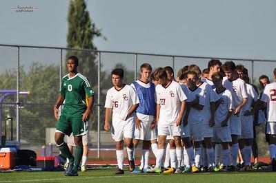 Varsity Soccer - State College Area High School v. Cumberland Valley High School, in State College, PA on September 4, 2013.