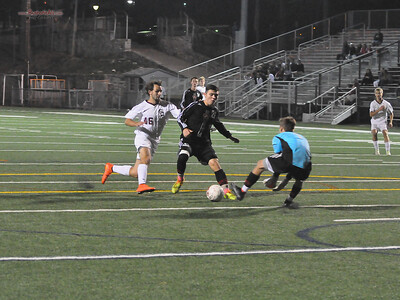 Varsity Soccer - State College Area High School v. Cumberland Valley High School, in State College, PA on Oct 2, 2014.