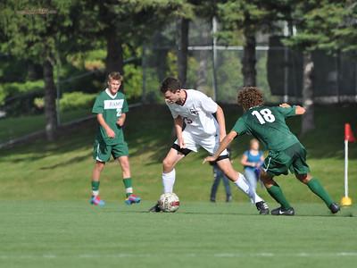Varsity Soccer - State College Area High School v. Central Dauphin High School, in State College, PA on September 25, 2014.