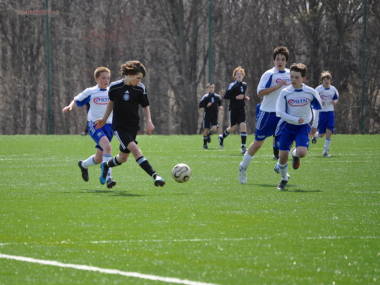 STN Rangers (U13) v. West Chester United Predators at Baltimore Mania Tournament in Columbia, MD on March 27, 2010.