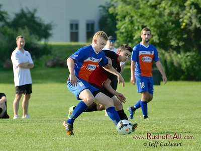 STN Rangers v. Lancaster/Depew SC at Cobras Summer Classic in Rochester, NY on July 11 2015.