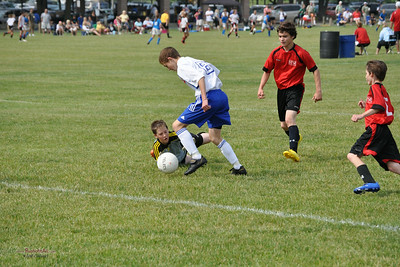 STN Rangers (U13) v. STM SC United at Lehigh Valley Youth Soccer League Tournament in Bethlehem, PA, on June 12-13, 2010.